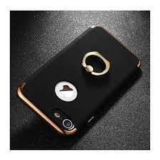 کاور،قاب مشکی ایفون 7 با استند پایه نگه دارنده Joyroom مدل lingpai Tailor مناسب Apple IPhone 7