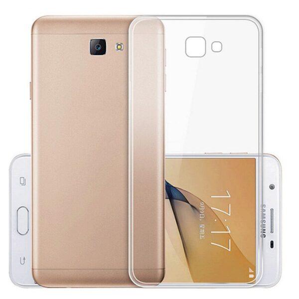 قاب محافظ شیشه ای- ژله ای برای Samsung Galaxy J5 Prime