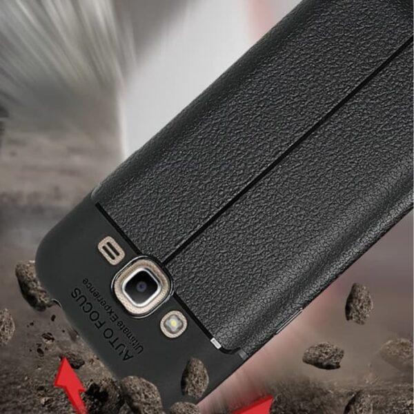قاب ژله ای اتوفوکوس رنگ مشکی گوشی موبایل موبایل سامسونگ مدل jelly cover galaxy j200
