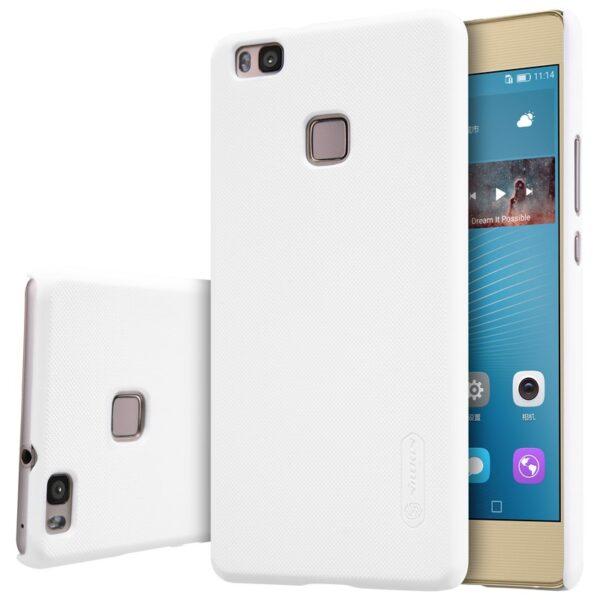 قاب اصلی نیلکین جی9 و پی 9 لایت رنگ سفید و مشکی گوشی هواوی Huawei P9 Lite با برچسب محافظ صفحه نمایش