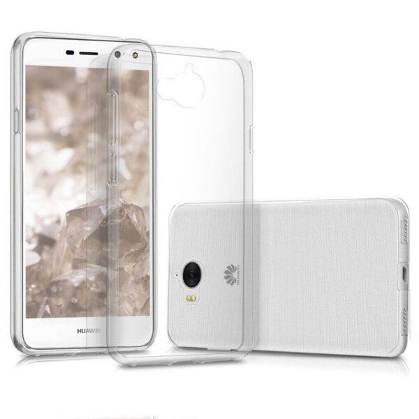 قاب ژله ای گوشی هواوی Huawei Y5 2017 مدل Clear TPU