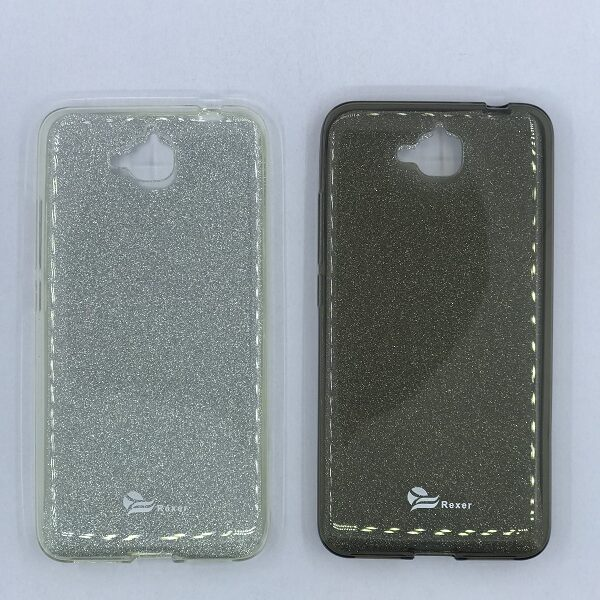 قاب ژله ای اکلیلی REXER Sparkle Huawei Y6 pro