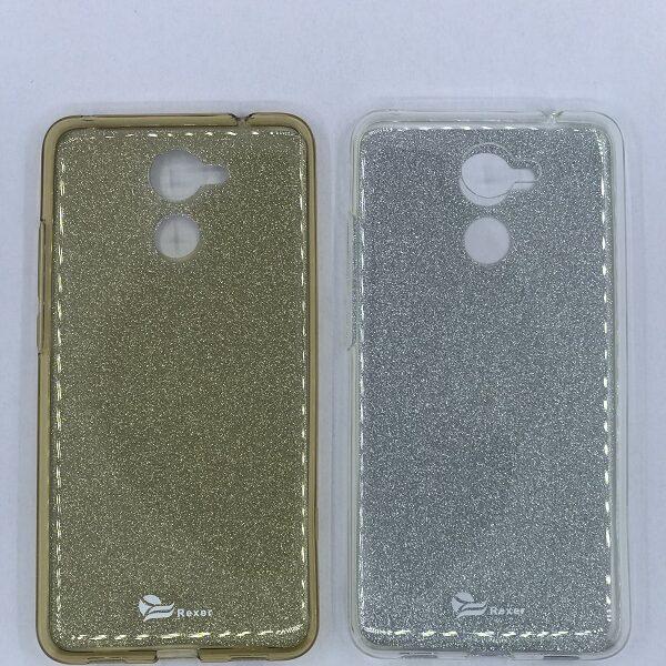 قاب محافظ رنگ نقره ای طلایی برای هواوی وای 7 پرایم Huawei y7 prime