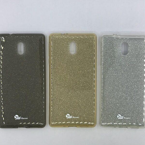 قاب ژله ای شفاف و اکلیلی فانتزی گوشی نوکیا Nokia 3