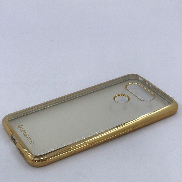 قاب شفاف دور طلایی گوشی الجی جی 5 LG G5