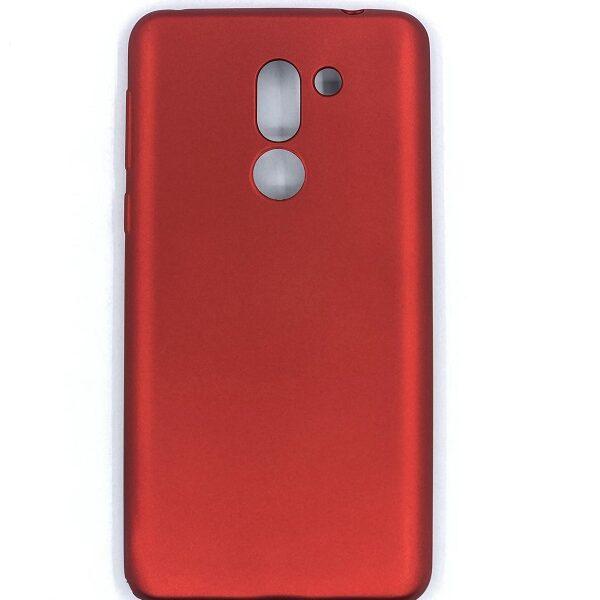 قاب محافظ ژله ای رنگ قرمز هواوی Huawei Honor 6X مناسب انر 6 ایکس