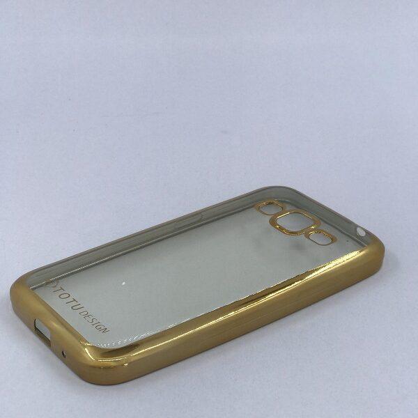 کاور محافظ ( گارد ) ژله ای دور طلایی سامسونگ کور پریم Samsung G360