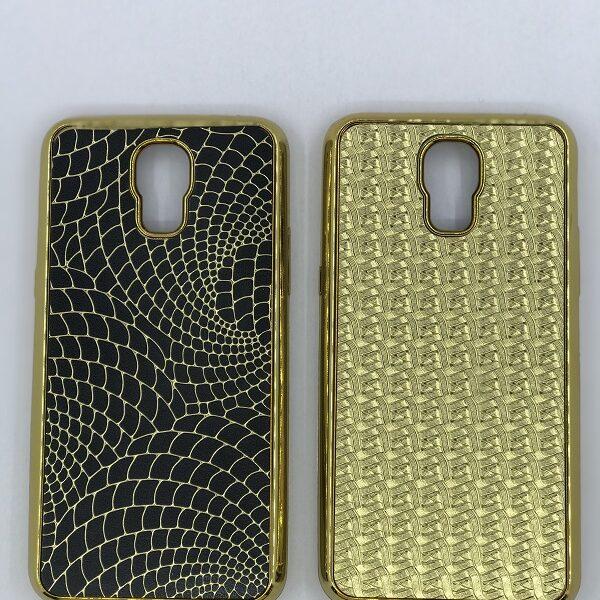 قاب گوشی LG X screen طرح لاکچری طرح پوست ماری طلایی برای الجی ایکس اسکرن