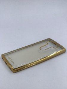 قاب شفاف دور طلایی گوشی الجی جی 4 استایلوس LG G4 stylus