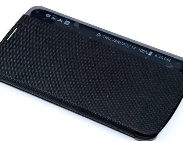 فلیپ کاور (غیر اصلی) کیف هوشمند رنگ مشکی الجی کا 10 Lg K10 2016