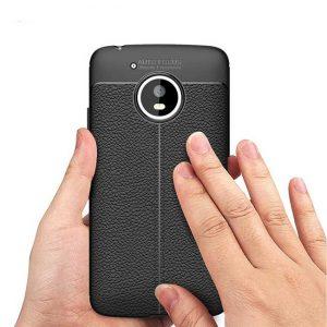 قاب ژله ای طرح چرم موتورولا موتو جی Auto Focus Jelly Case Motorola Moto G5
