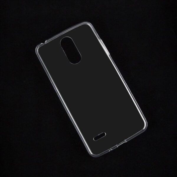محافظ قاب ژله ای شفاف گوشی موبایل LG K8 2017