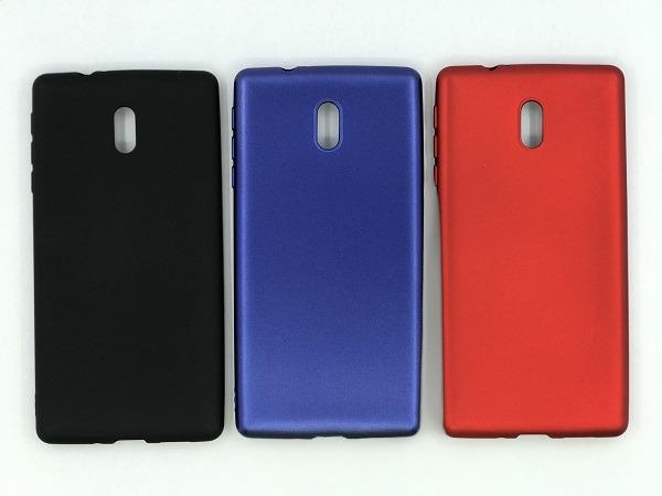 قاب ژله ای رنگی نوکیا 3 Nokia