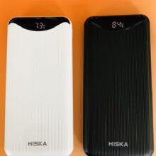 پاوربانک ۱2۰۰۰ میلی آمپر شارژر همراه هیسکا مدل Hiska X120