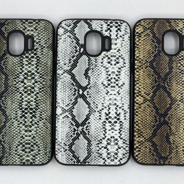 کاور قاب محافظ گرند پرایم پرو لاکچری سامسونگ جی 2 پرو طرح پوست ماری مناسب Snake Skin Leather Case For Grand prime pro Samsung J250 Galaxy j2 pro 2018