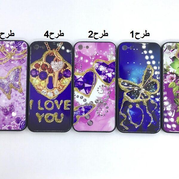 کاور قاب محافظ طرح دار دخترانه آیفون 5 اس اپل Best Girls Women case for Apple Se iPhone 5s