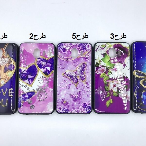 کاور قاب محافظ طرح دار دخترانه گلکسی جی 4 سامسونگ Best Girls Women case for Samsung Galaxy J400/ J4