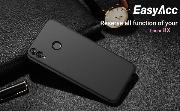 کاور ژله ای مشکی قاب محافظ گوشی موبایل هواوی هانر 8 ایکس Best cover for Huawei Honor 8X