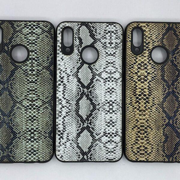کاور قاب هواوی پی اسمارت 2019 محافظ لاکچری هواوی آنر 10 لایت طرح پوست ماری مناسب  Snake Skin Leather Case For Huawei P smart 2019 Honor 10 lite