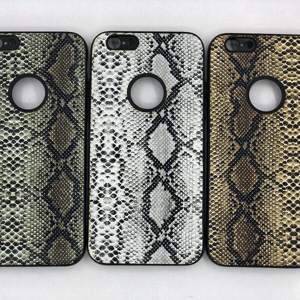 کاور قاب ایفون 6 اس محافظ لاکچری اپل 6s طرح پوست ماری مناسب Snake Skin Leather Case For Apple Iphone6s