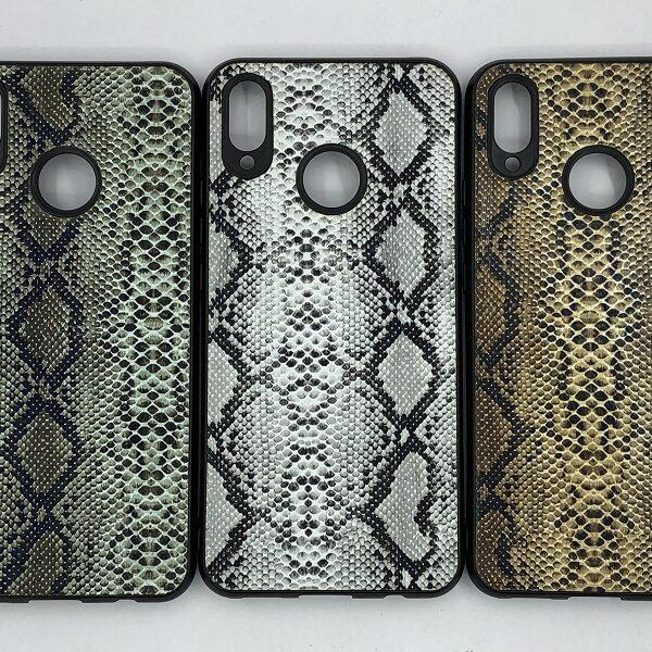 کاور قاب هواوی پی اسمارت پلاس 2019 هواوی محافظ لاکچری نوا 3 آی هواوی طرح پوست ماری مناسب Snake Skin Leather Case For P Smart plus 2019 Huawei Nova 3i INE-LX1M