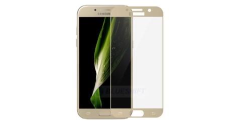 گلس گوشی سامسونگ a7 2017 محافظ صفحه شیشه ای تمام صفحه گلس Full Glass Screen Protector For samsung galexy A720