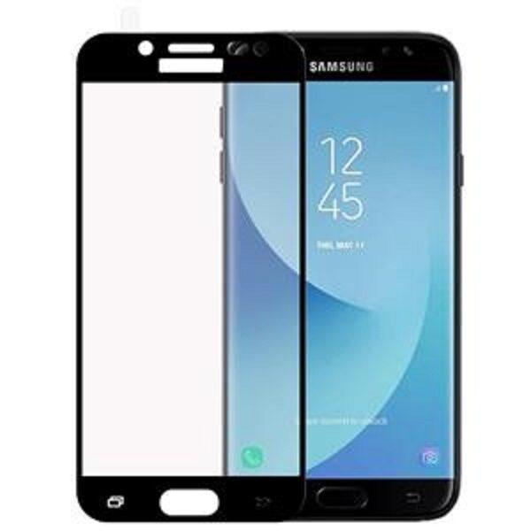 گلس J5 Pro محافظ صفحه نمایش J530 تمام چسب  گوشی سامسونگ گلکسی جی 5 پرو Glass Full Samsung Galaxy j5pro 2017