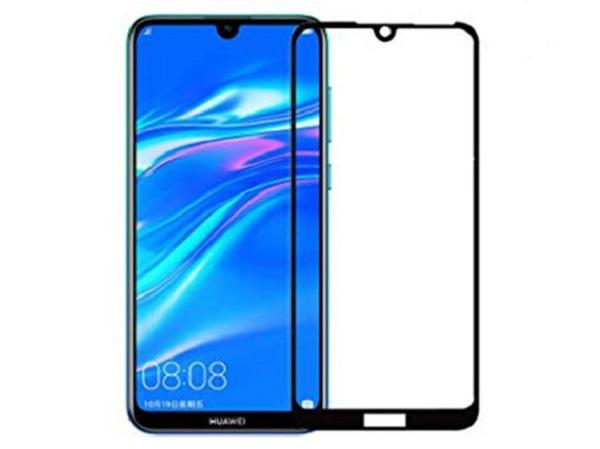 گلس هواوی Y7 2019 و Y7 Prime 2019محافظ صفحه شیشه ای تمام صفحه گلس فول هواوی وای7 پرایم Full Glass Screen Protector For Huawei Y7 2019 Y7 Prime 2019
