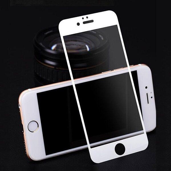 گلس ایفون 8 و ایفون 7 محافظ صفحه نمایش شیشه ای مناسب آیفون7 گلس Full Cover glass Apple iPhone 7/8