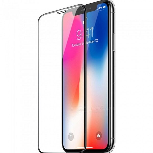 گلس اپل 11 پرو و ایفون ایکس اس محافظ صفحه نمایش شیشه ای 5.8 اینچ مناسب آیفون ایکس اس و ایفون یازده پرو  5.8inch Full Cover glass Apple iPhone x/xs / iphone 11 pro