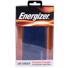 شارژر همراه انرجایزر مدل UE10022 پاور بانک با ظرفیت 10000میلی آمپرساعت Energizer UE10022 10000mAh Power Bank
