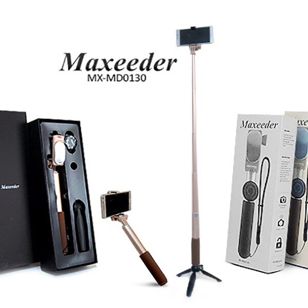 مونوپاد اصلی مکسیدر مدل Maxeeder MX-MD0130 Monopad همراه با سه پایه و ریموت