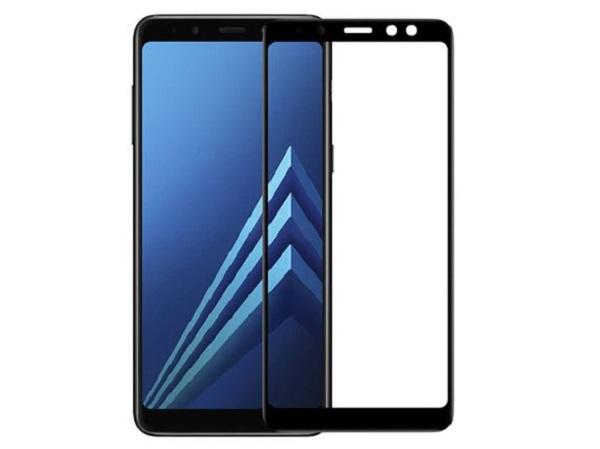 محافظ صفحه نمایش تمام چسب  گوشی سامسونگ گلکسی آ8 Glass Full Samsung Galaxy A8 2018
