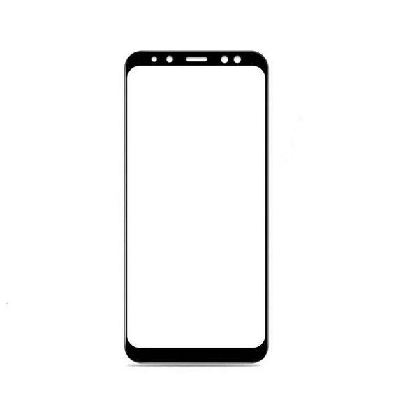 محافظ صفحه نمایش تمام چسب  گوشی سامسونگ گلکسی آ8پلاس Glass Full Samsung Galaxy a8plus 2018