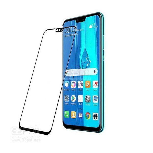 محافظ صفحه نمایش تمام چسپ گلس فول هواوی وای نه Full Glass Screen For Huawei y9 2019