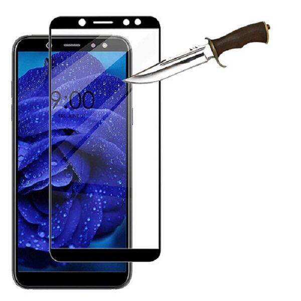 محافظ صفحه نمایش تمام چسب  گوشی سامسونگ آ6پلاس Samsung Galaxy A6 Plus