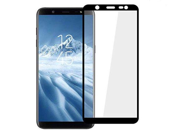 محافظ صفحه نمایش شیشه ای تمام چسب گلس سامسونگ Full Glue Glass Samsung Galaxy j8
