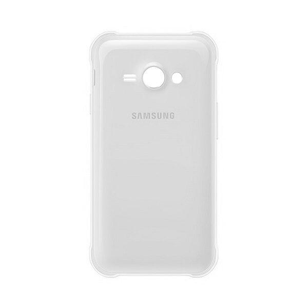 در پشت گوشی سامسونگ مدل جی یک ایس Samsung Galaxy J1 Ace سفید