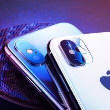 محافظ لنز دوربین ایفون مکس گلس شیشه ای موبایل اپل ایکس اس مکس گلس لنز دوربین آیفون Glass camera screen protector for Apple iPhone xs max