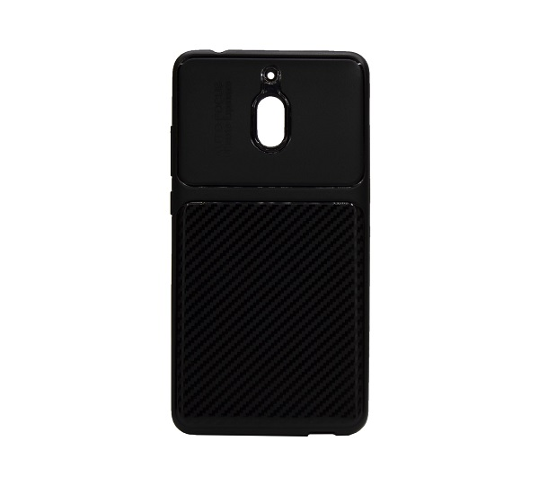 کاور محافظ قاب گوشی nokia 2.1 رنگ مشکی مدل 2018 نوکیا AutoFocus Jelly Case Nokia 2.1