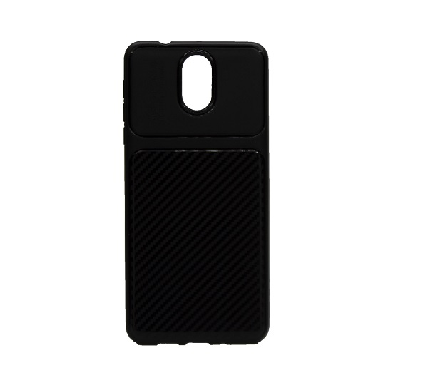 کاور محافظ قاب گوشی nokia 3.1 رنگ مشکی مدل 2018 نوکیا AutoFocus Jelly Case Nokia 3.1