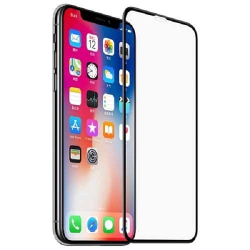 گلس ایفون 11 و اپل ایکس آر محافظ صفحه نمایش شیشه ای 6.1 اینچ مناسب آیفون ایکس آر و ایفون یازده 6.1 inch Full Cover glass Apple iPhone xr / iphone 11