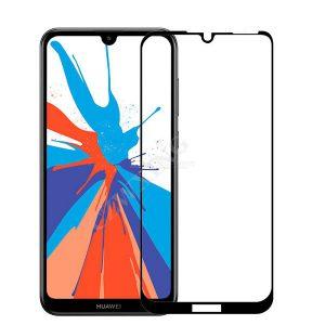 گلس گوشی هواوی Y6 2019 ، Y6 Prime 2019 ، Honor 8A / Y6s محافظ صفحه نمایش تمام چسپ وای 6پریم گلس فول هواوی وای 6 Full Gllass Screen For Huawei Y6S / Y6 2019 / Honor 8A / y6 prime 2019