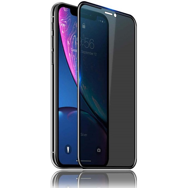 گلس ایفون ایکس اس و آیفون 11 پرو حریم شخصی اپل ایکس اس پرایوسی ایفون 10 محافظ صفحه نمایش شیشه ای حریم خصوصی ایفون 11 پرو Privacy Glass for Apple iPhone X/XS/11 Pro