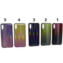 قاب A70S و کاور رنگی گوشی موبایل ای 70 سامسونگ گلکسی آ 70 محافظ قاب سامسونگ A70S مدل لیزری گوشی Tempered Glass Laser Case Samsung SM-A705FN/DS Galaxy A70