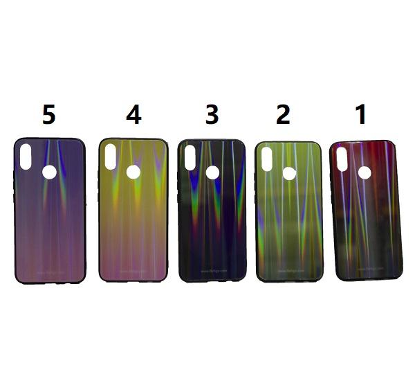 کاور رنگی گوشی موبایل هواوی نوا 3 آی هواوی پی اسمارت پلاس 2019 محافظ قاب nova3i و psmart plus مدل لیزری گوشی Tempered Glass Laser Case Huawei Nova 3i /Psmart plus 2019