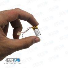 باتری هدفون بلوتوث لیتیومی تک سل 3.7V 160mAh دارای برد محافظ باطری کیفیت بالا 041018p 3.7v 160mah high quality battery