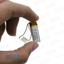 باتری هدفون بلوتوث لیتیومی تک سل 3.7V 300mAh دارای برد محافظ باطری کیفیت بالا 041230p 3.7v 300mah high quality battery