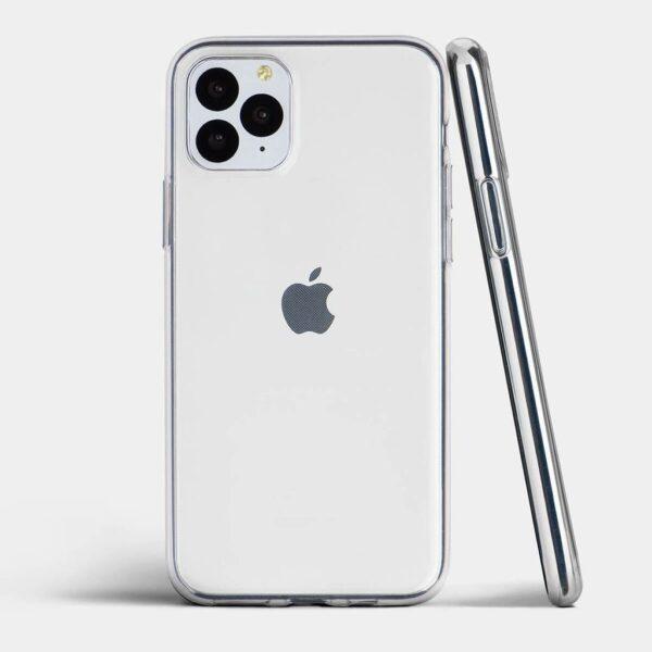 قاب آیفون 11 پرو ژله ای شفاف محافظ بی رنگ گوشی آیفون 11 پرو کاور نرم مخصوص 11 pro قاب clear Case for apple iphone 11 pro