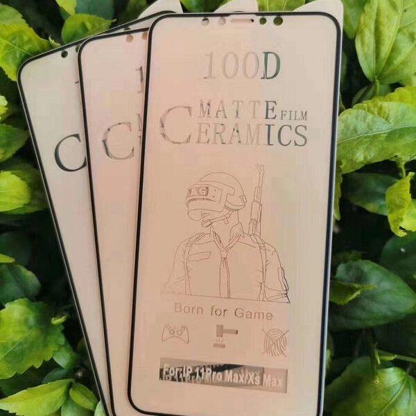 گلس هواوی P30 Lite مدل سرامیکی مات هواوی پی سی لایت محافظ صفحه نمایش نانو سرامیکی  Original Matte Nano Ceramic Screen Protector For Huawei P30 Lite
